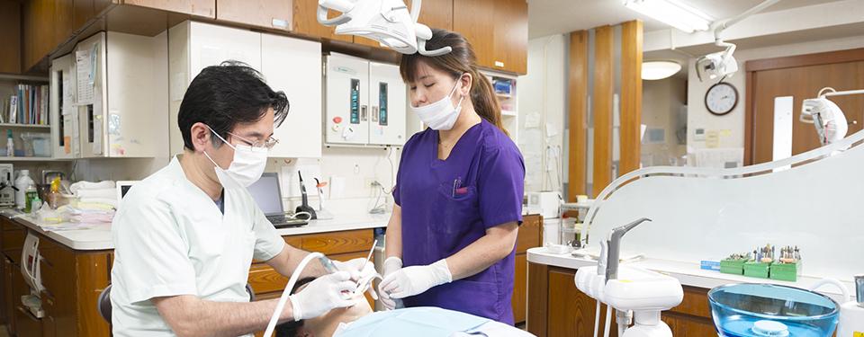 むし歯・歯周病の治療