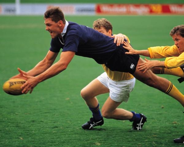 こんなスポーツの選手がマウスガードをお使いになっています